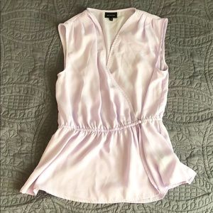 Who What Wear Lilac Sleeveless blouse